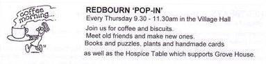 Redbourn Pop In