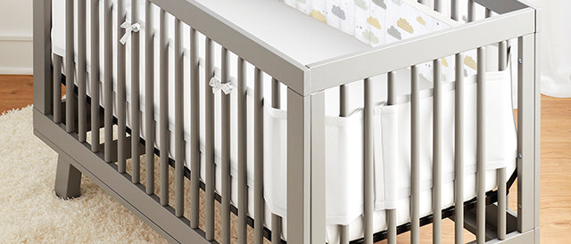 Classic Cot Liners - Clouds