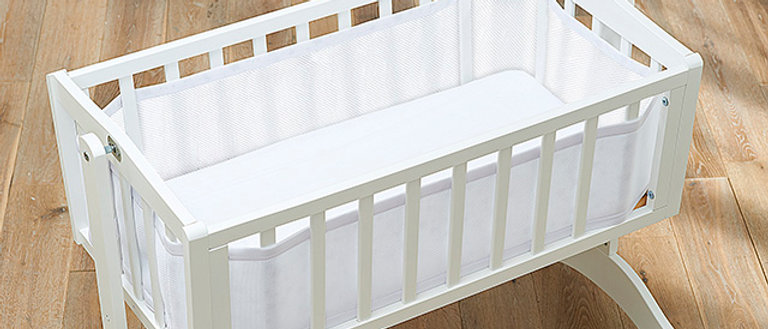 Classic Crib Liner - White