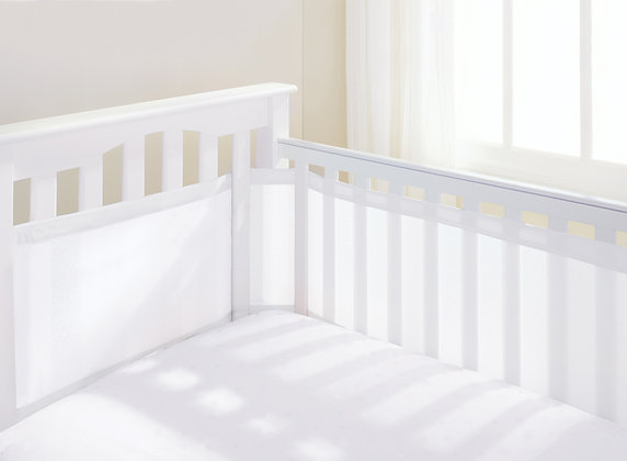 Essential Range - Cot Liners, White & Grey