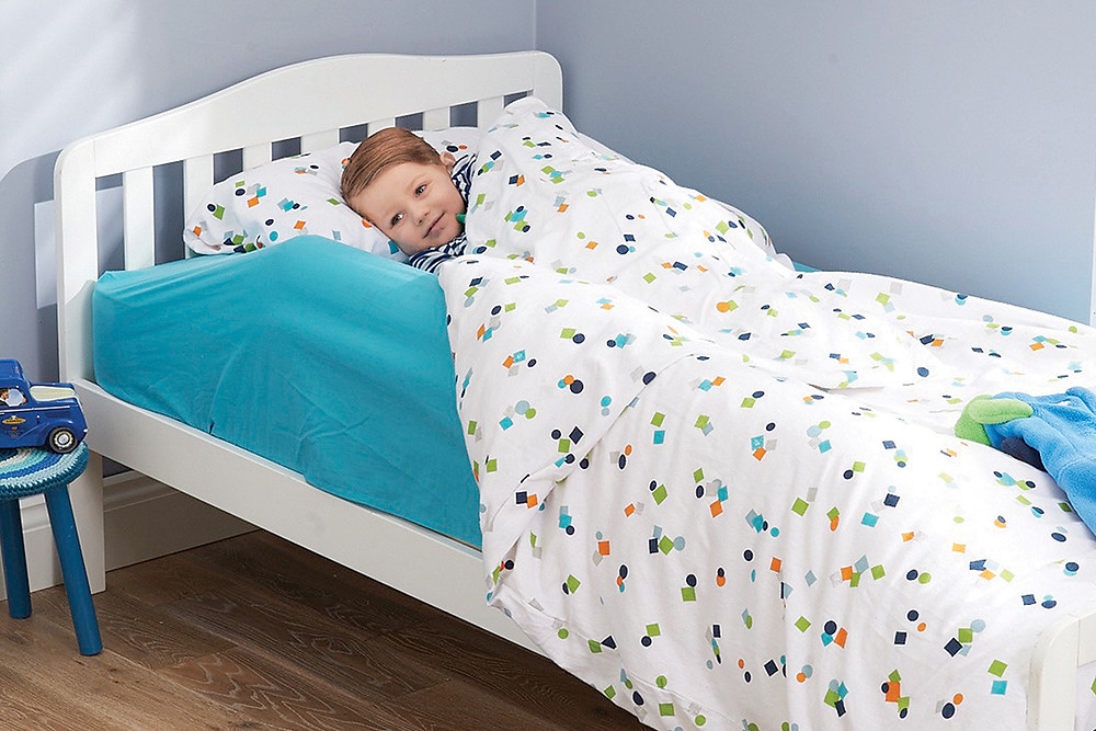 Little Chick London Inflatable Toddler Bed Guard - prevents nasty bumps in the night