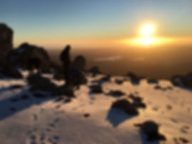 Mt Owen summit golden hour