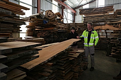 Slabs of Tasmanian Special Timbers