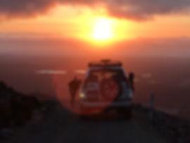 Mt Owen shuttle sunset