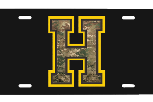 HHS License Plate