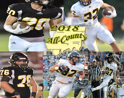 COMMANDOS HAVE 14 NAMED ALL-COUNTY