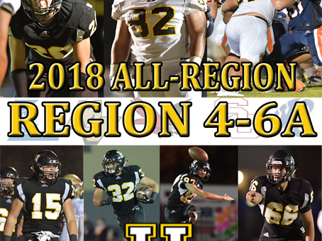 2018 ALL-REGION HONORS