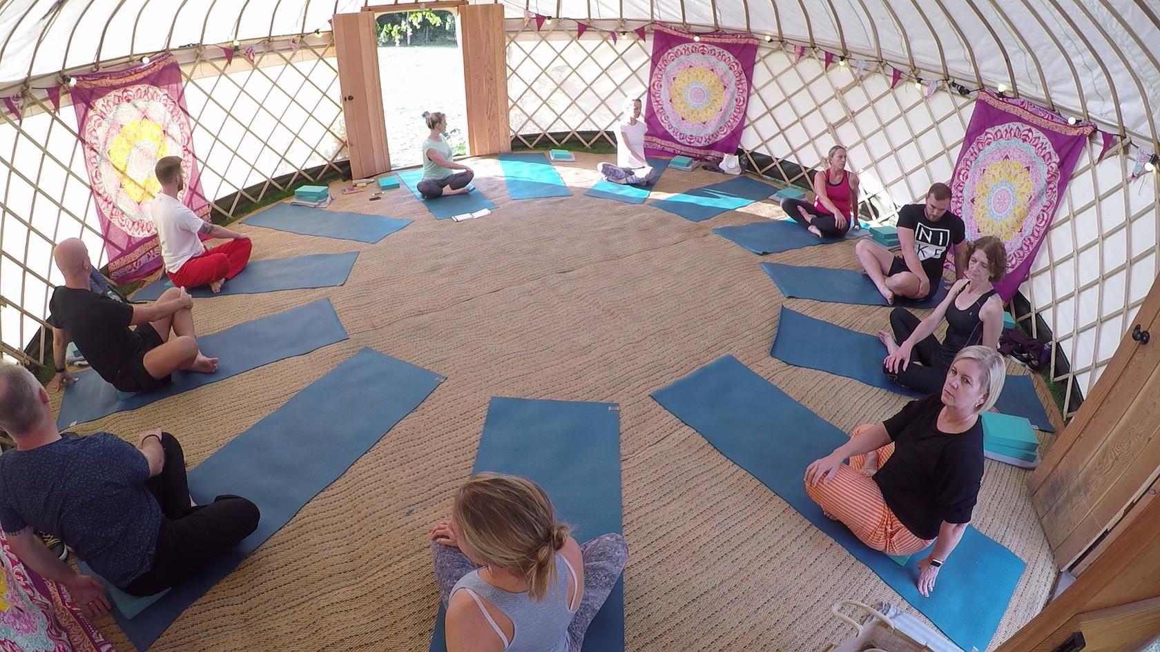 Yurt Retreat