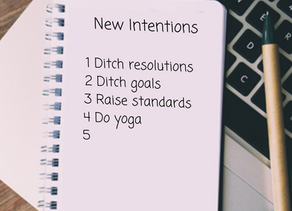 A Fresh Look at New Year Intentions