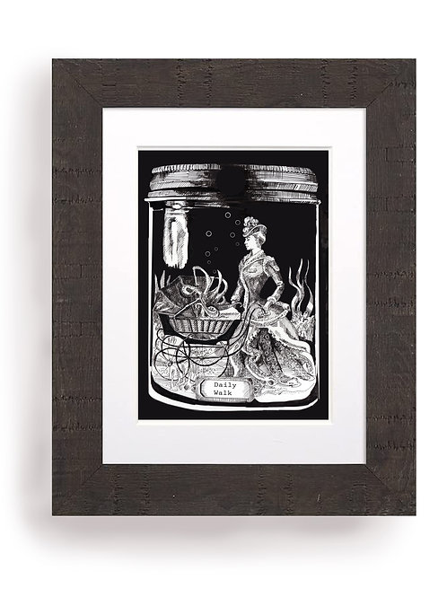 PRINT Specimen Jar, Daily Walk 02