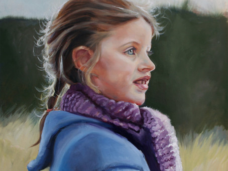How to paint a portrait in oils, step 1