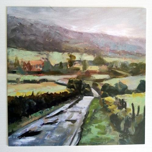 North Yorkshire Moors Postcard