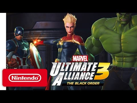 Marvel Ultimate Alliance 3: the Black Or