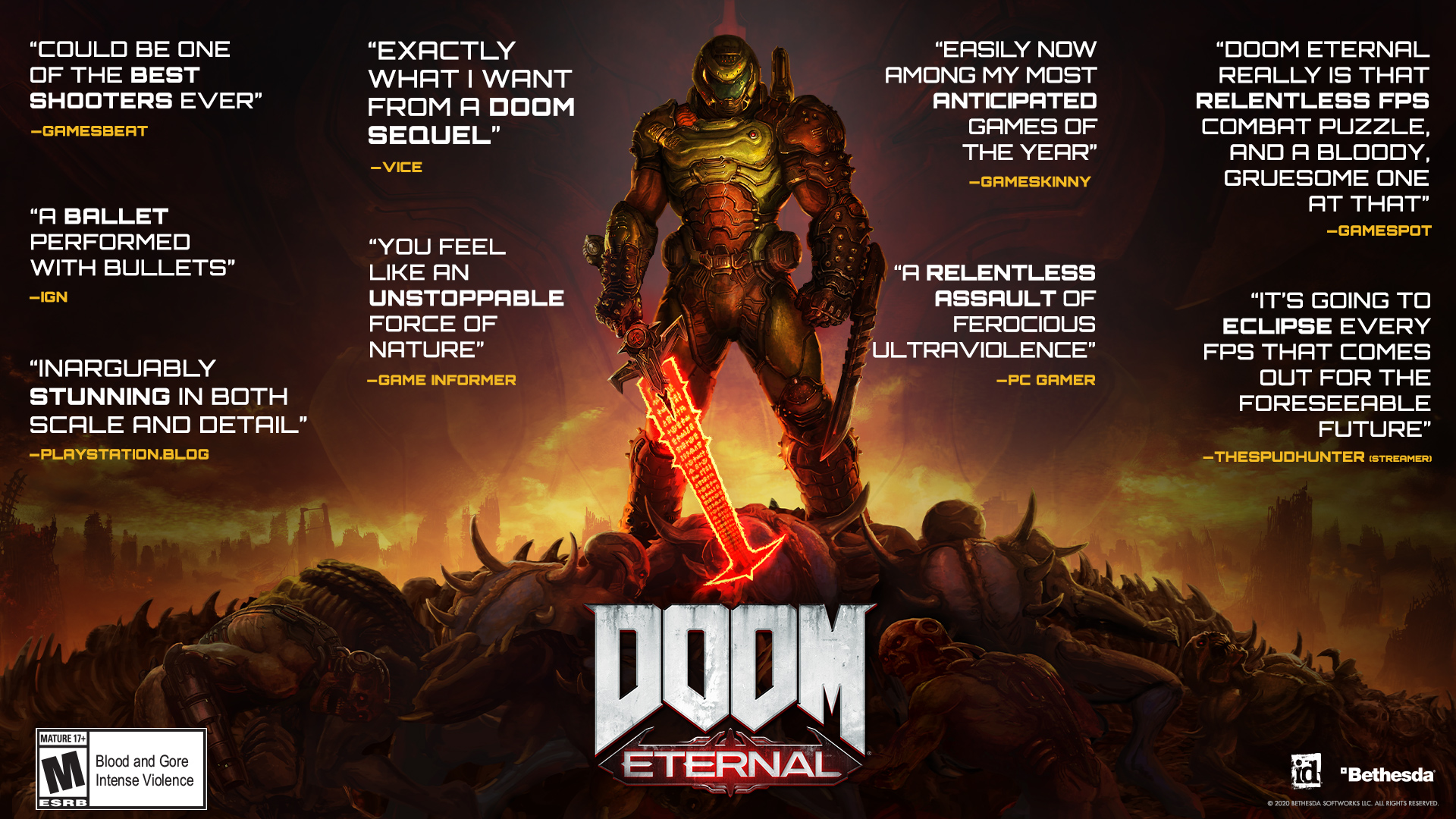 Doom Eternal for PS4 & XONE