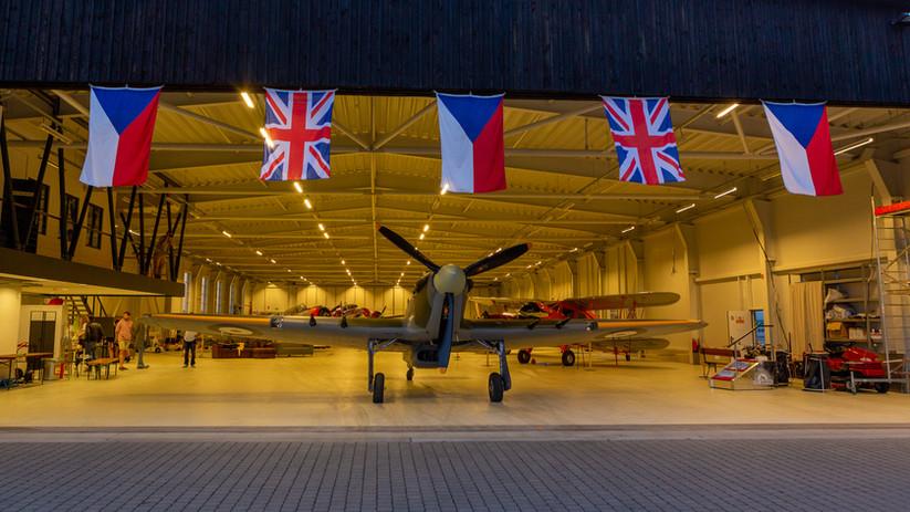 Hawker Hurricane na Točné
