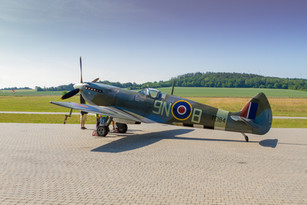Spitfire na Točné v rámci DOD