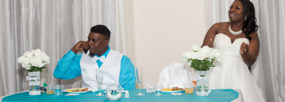 The Muphy's Wedding Reception