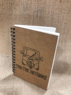 Browny wiro notebook with design