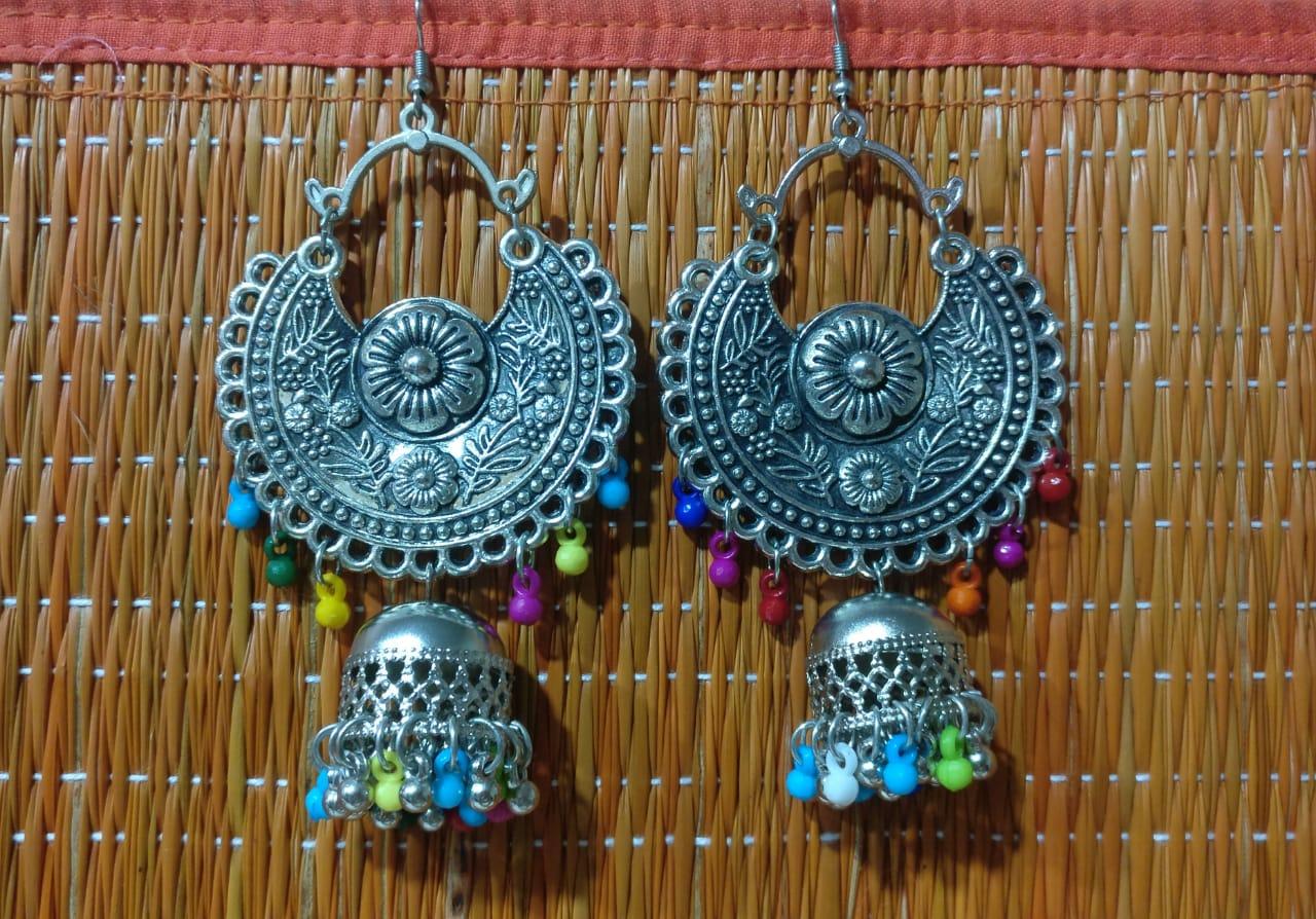 Earring - multicolour dangler