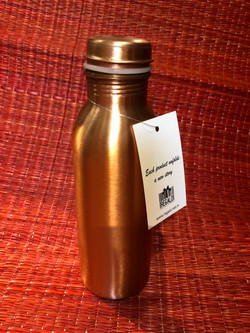Copper bottle - call us for sizes