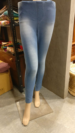 Denim jeggings - size options available