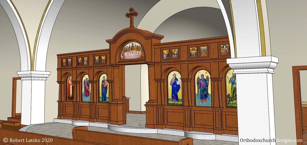 St. Nicholas Orthodox Church Iconostasis