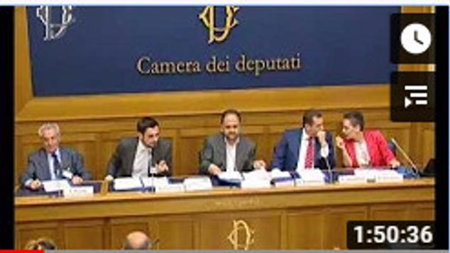 Presentazione alla Camera dei Deputati