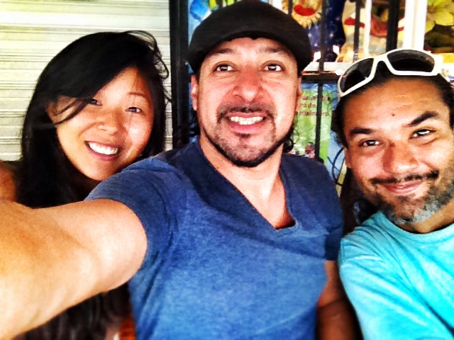 con Lara Wong y Rodrigo Martinez