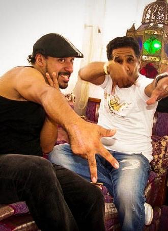 con Cheb Khaled