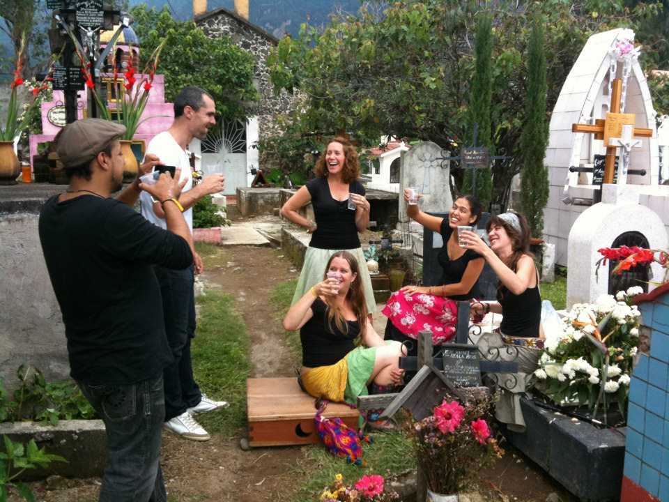 Filming the third root in mexico