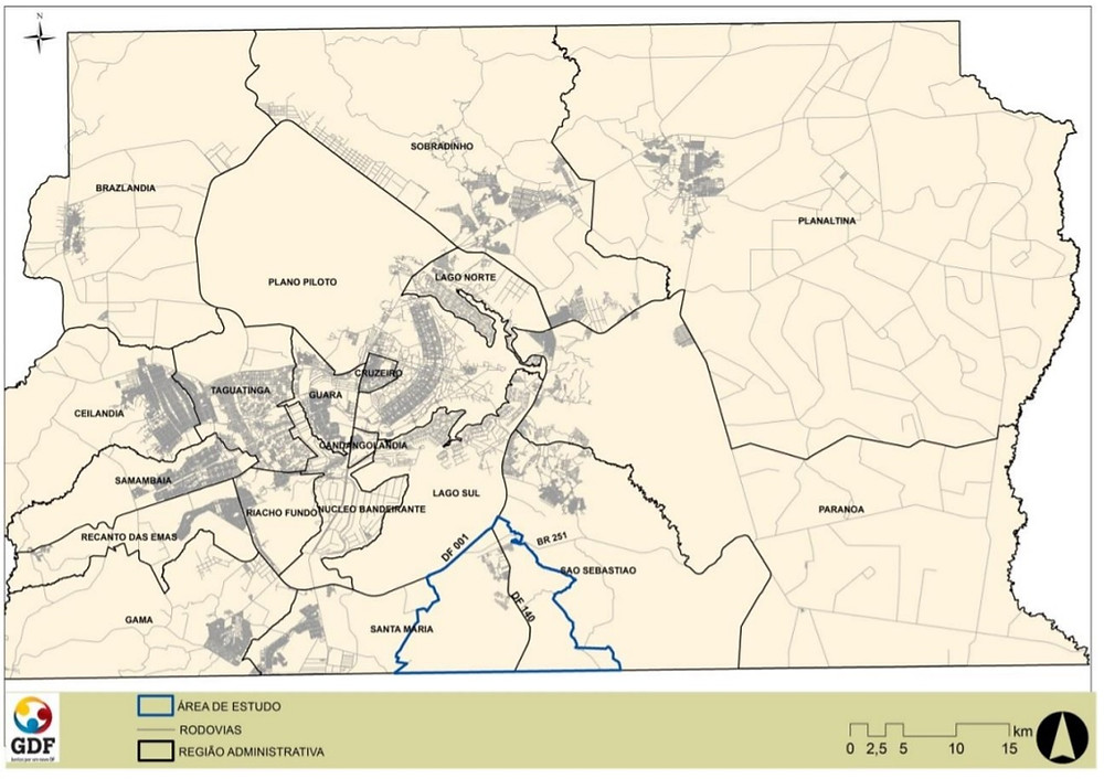 Figura da nova cidade - Região Sul/Sudeste