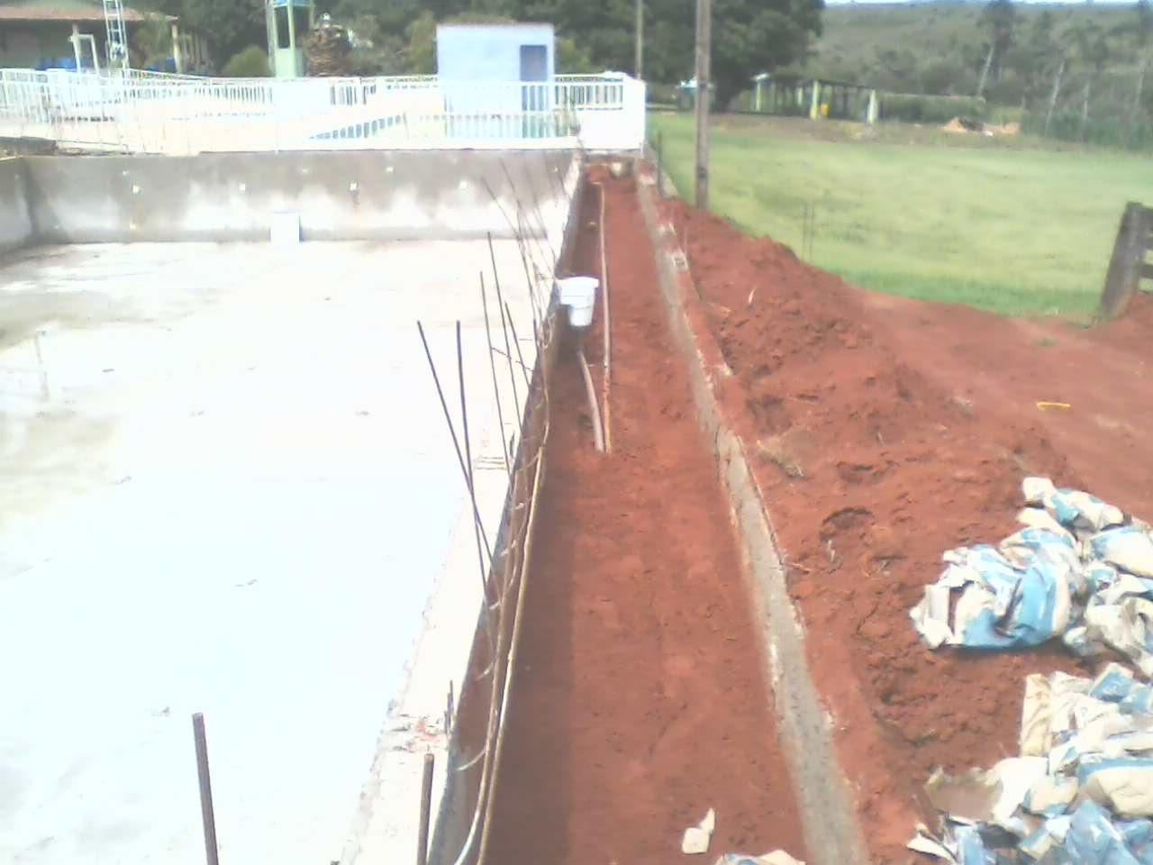 Estrutura Construção de Piscinas