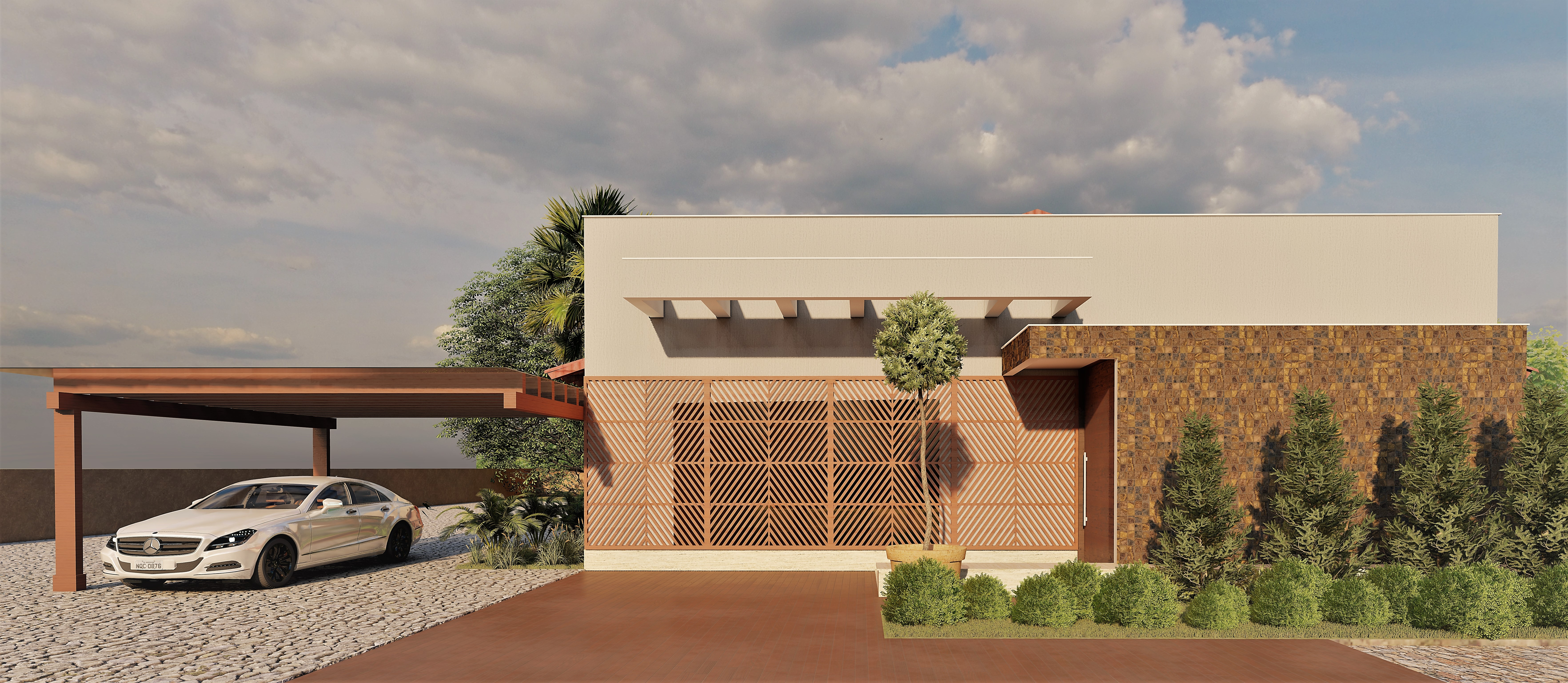 Projeto de Arquitetura - Park Way - DF
