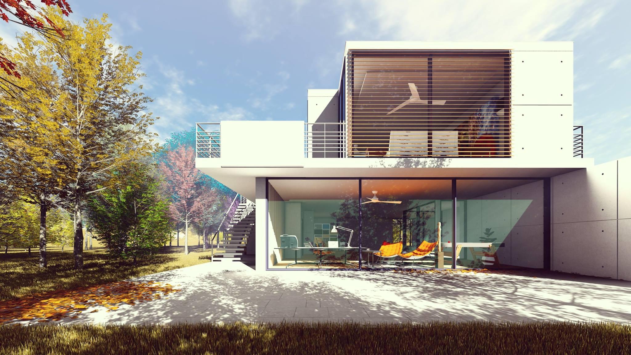 Fachada - Casa Jardim Botânico