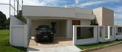Fachada de Casa Vicente Pires.