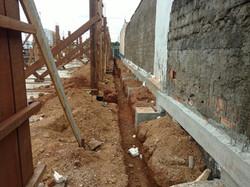 Construção de Contra-piso em concreto (1