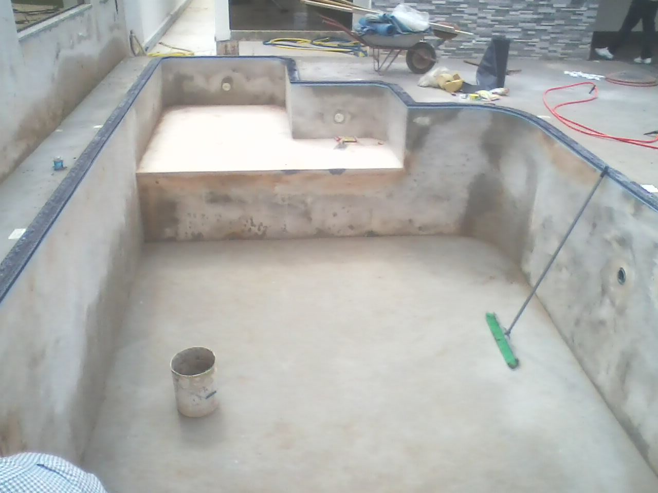 Construção Piscinas Arniqueiras