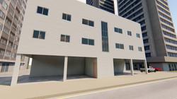 projeto de arquitetura de predio de kitnets samamabaia
