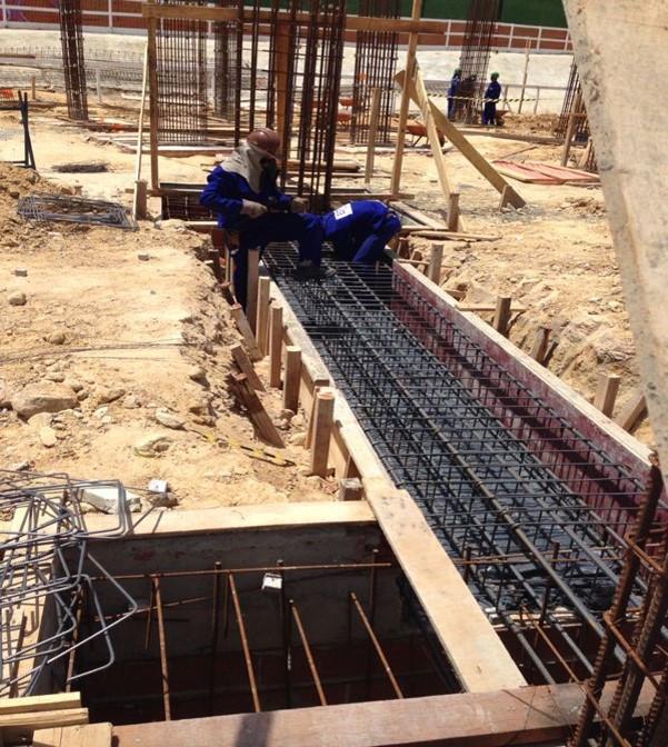 Orçamento de construção de fundação no DF.