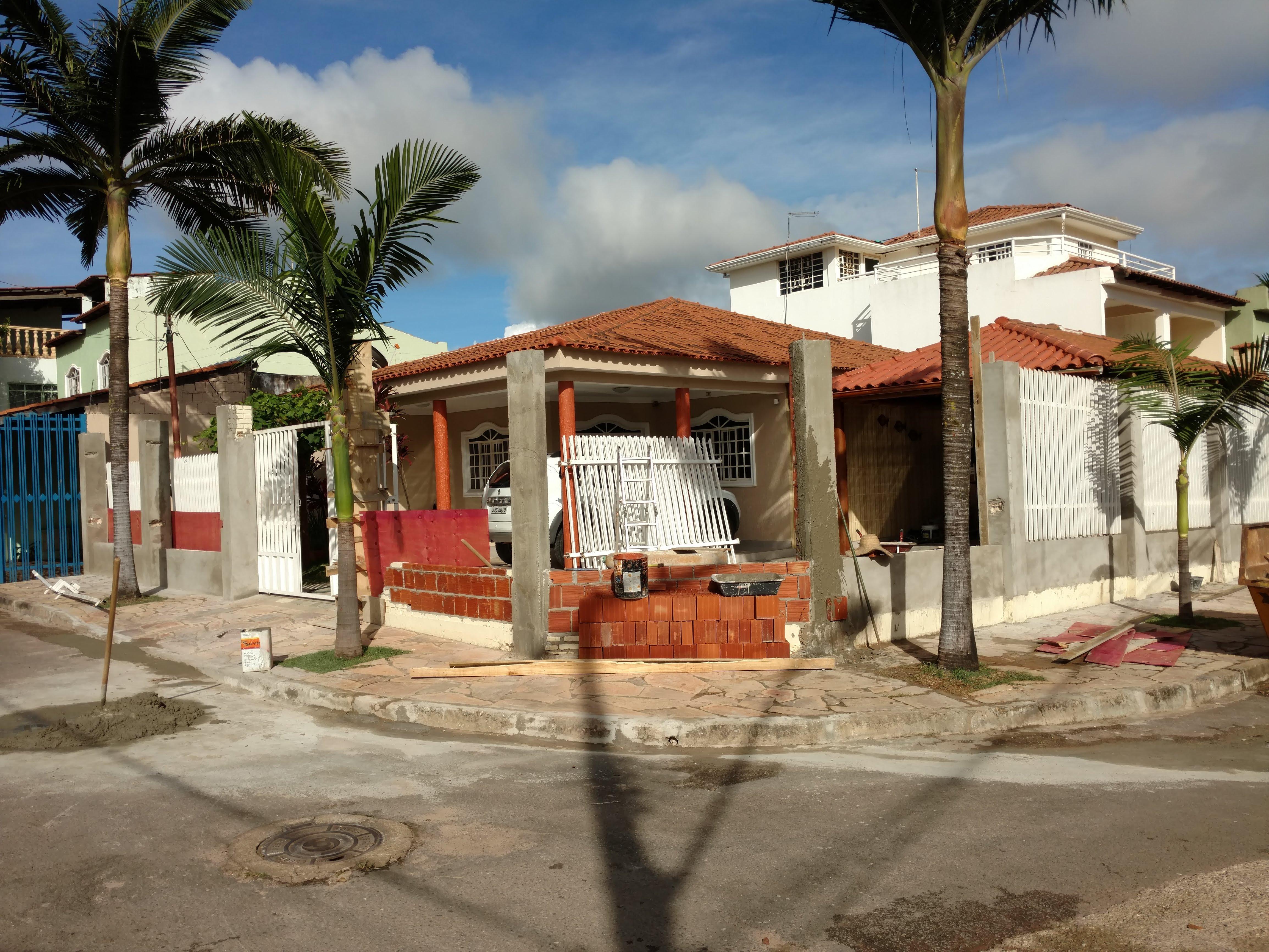 Conserto de muro na Vicente Pires
