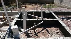 Construção de Esgoto