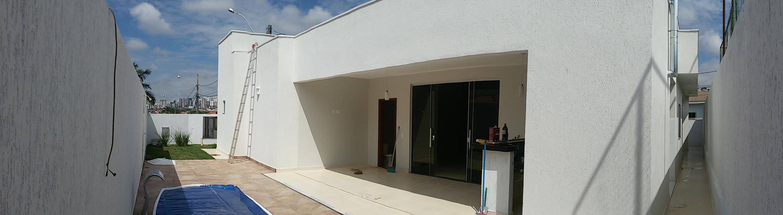 Interior de Casa Vicente Pires.