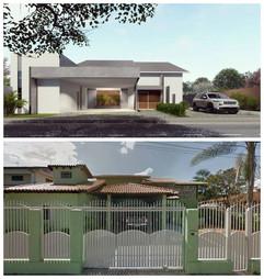 Projeto de Arquitetura de Casa Lago Nort