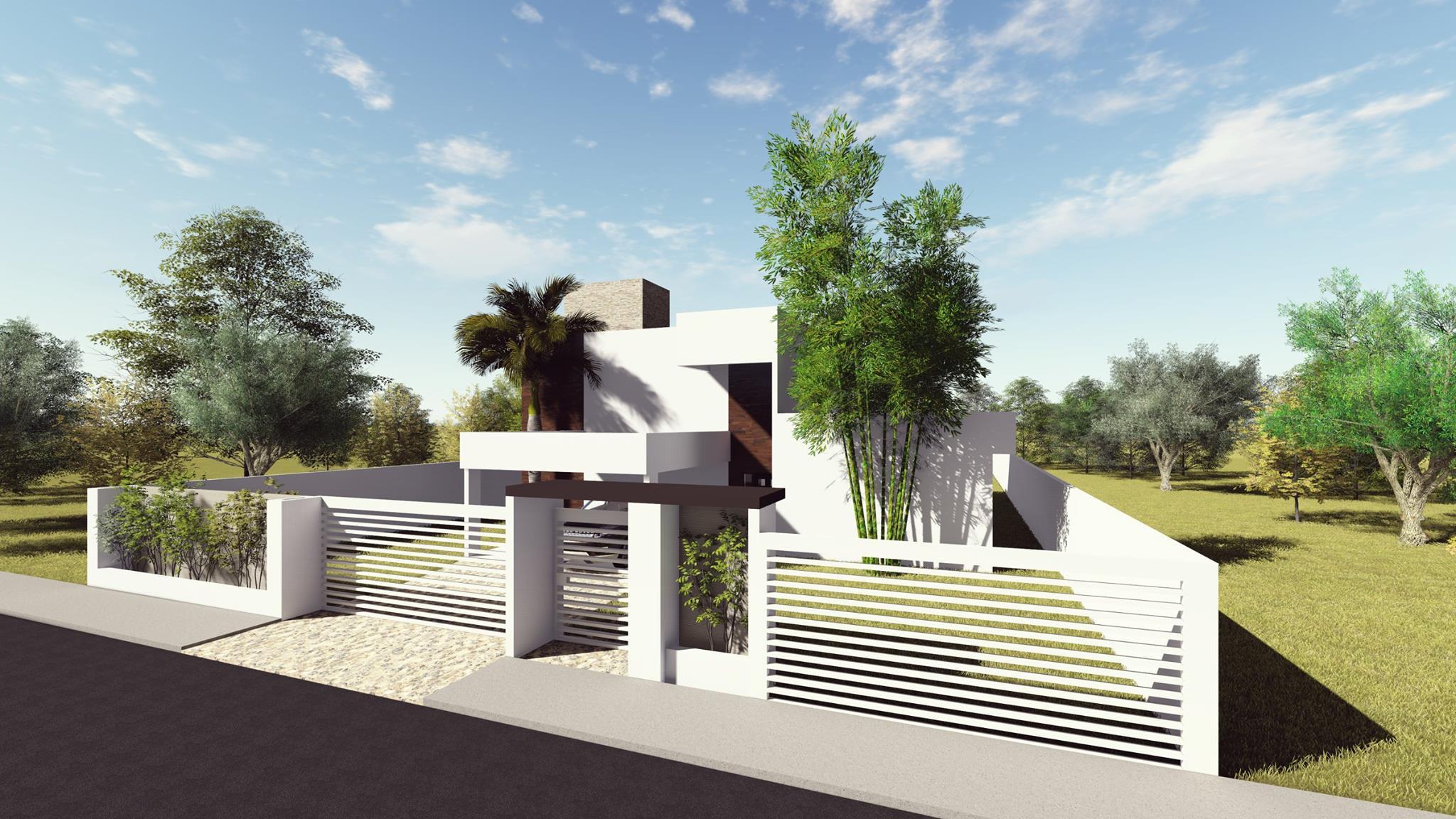 Fachada Casa Jardim Botânico 3