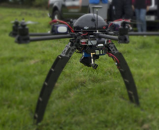 UAV drone aerial imaging and aerial video