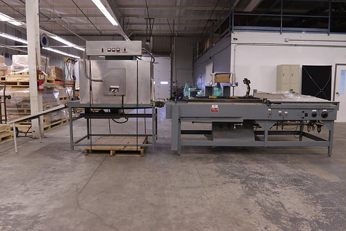 Shanklin Heat Sealer + Great Lakes Corp Model M-12 Oven