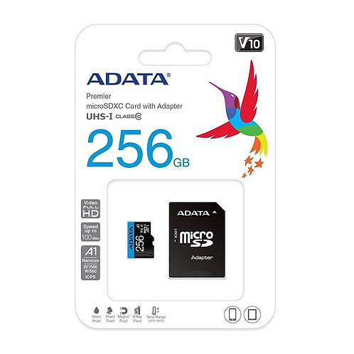 MICRO SD CLASE 10 - 256GB ADATA