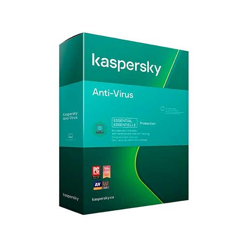 Kaspersky Anti-Virus 2021   1 Usuario Licencia Anual
