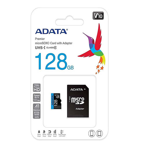 MICRO SD CLASE 10 - 128GB ADATA