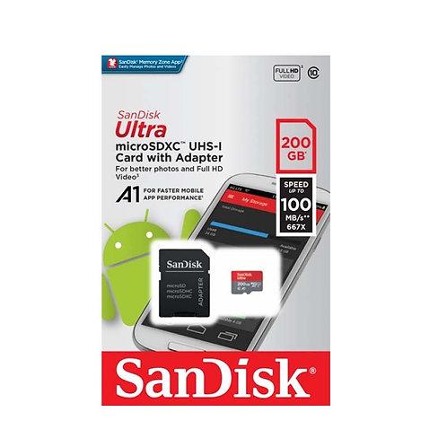 MICRO SD CLASE 10 ULTRA 200GB